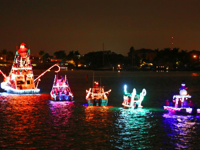 Annual Festival of Lights Illuminated Boat Parade in Madeira Beach