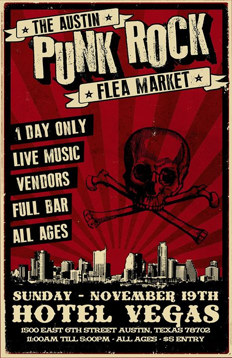 Austin Punk Rock Flea Market!