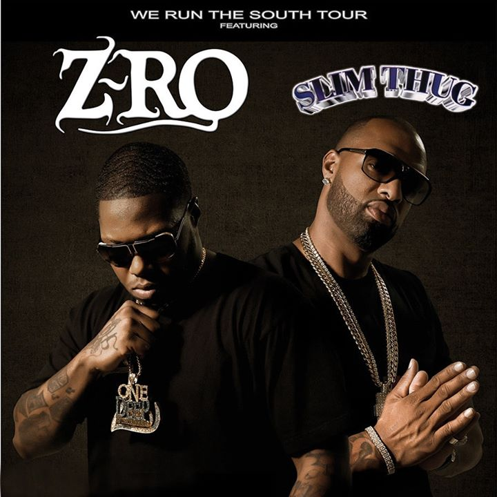 Cancelled: Z-Ro and Slim Thug * Cure for Paranoia * more!