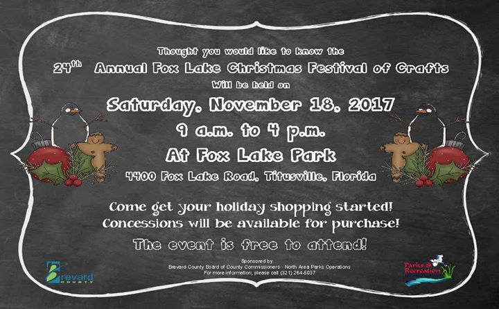 24th Annual Fox Lake Christmas Festival of Crafts