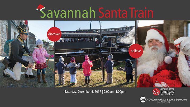 Savannah Santa Train 2017