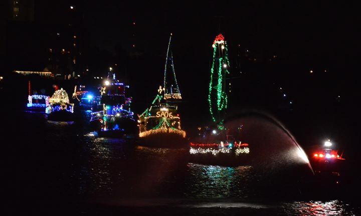 Boat Parade & Winter Festival in the Park