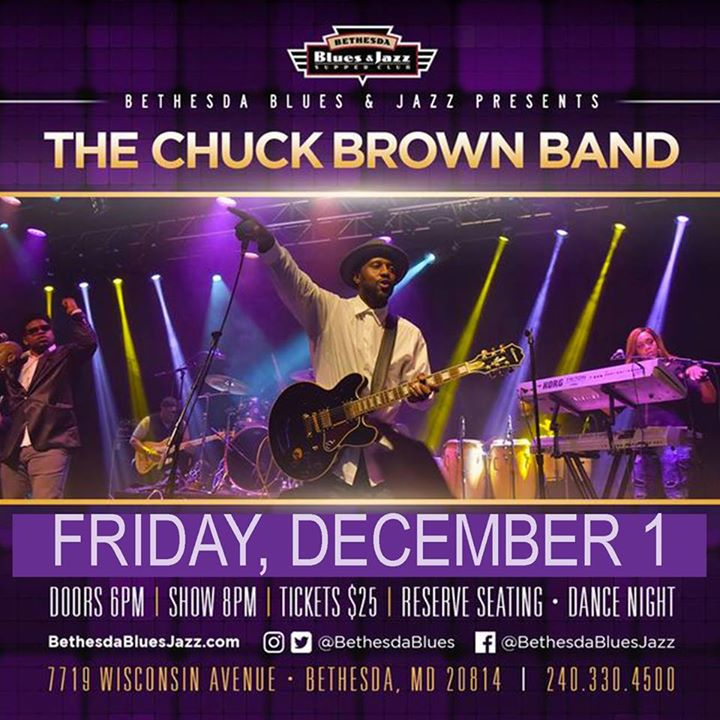 The Chuck Brown Band LIVE ! Go-Go in Mo-Co