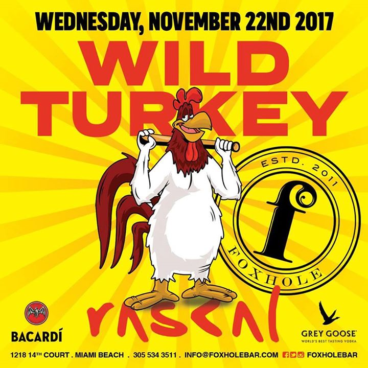 Wild Turkey Party at Foxhole