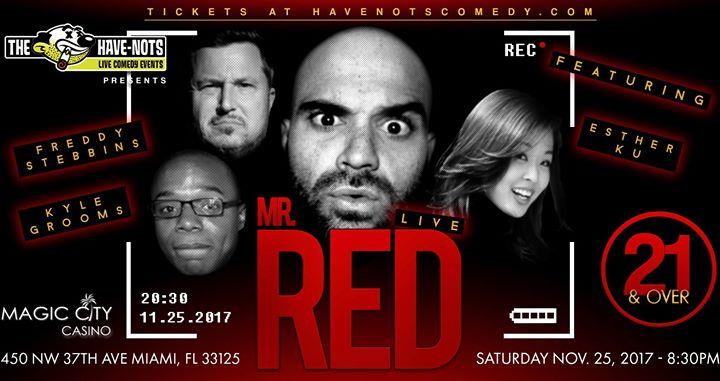 Mr. Red Live!