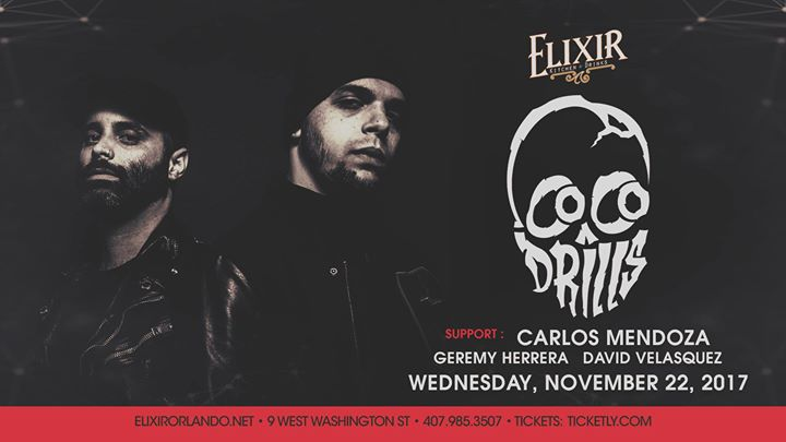 Thanksgiving Eve with Cocodrills at Elixir