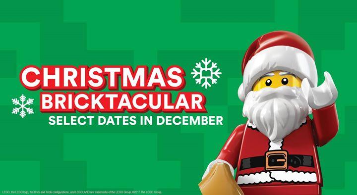 Christmas Bricktacular Holiday event at LEGOLAND