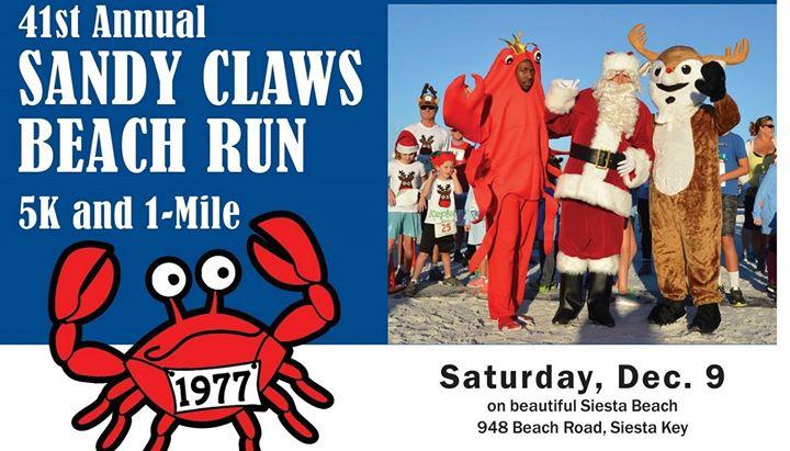 41st Annual Sandy Claws Beach Run