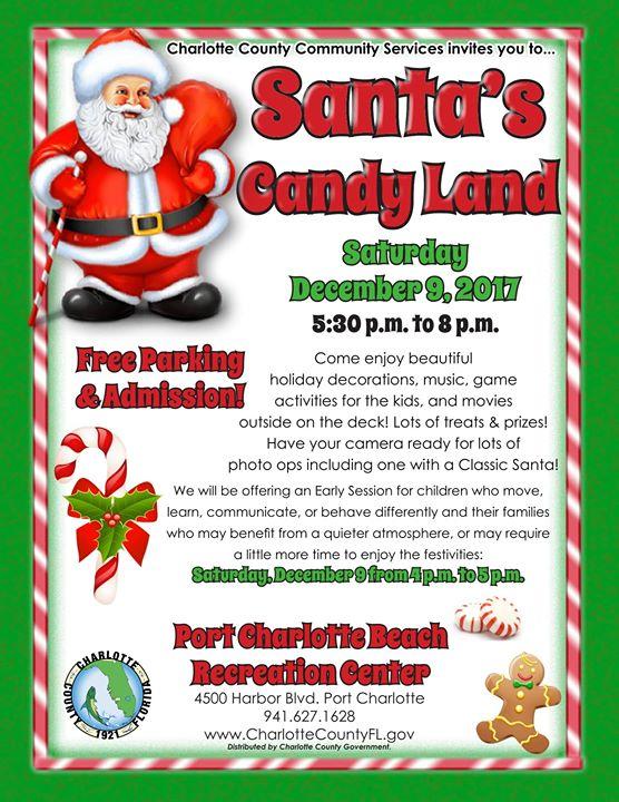 Santa's Candy Land