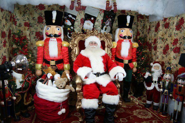 Santa S Winter Wonderland Village Orlando Fl Dec 1