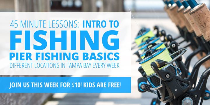 Pier Fishing Basics in Tampa: How to Land A Fish from Your Local Pier!