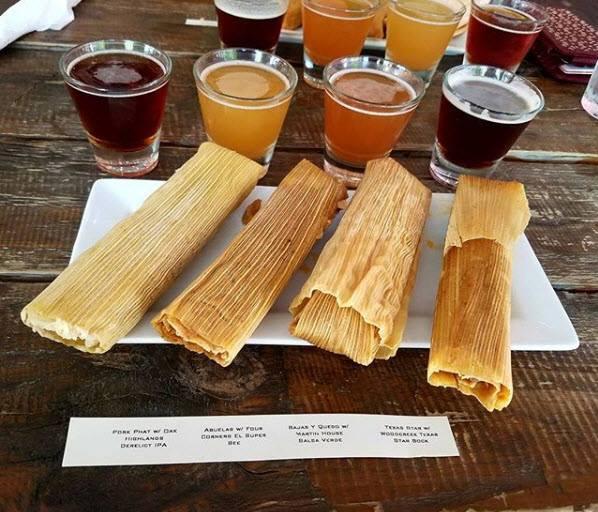 Tamale & Beer Pairing Flight