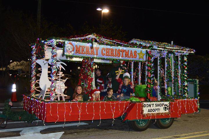 Health First Palm Bay Hospital Holiday Light Parade