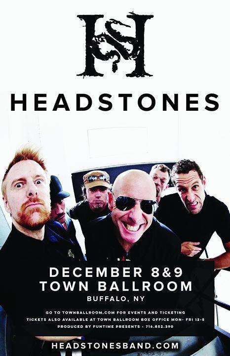 Headstones at Town Ballroom