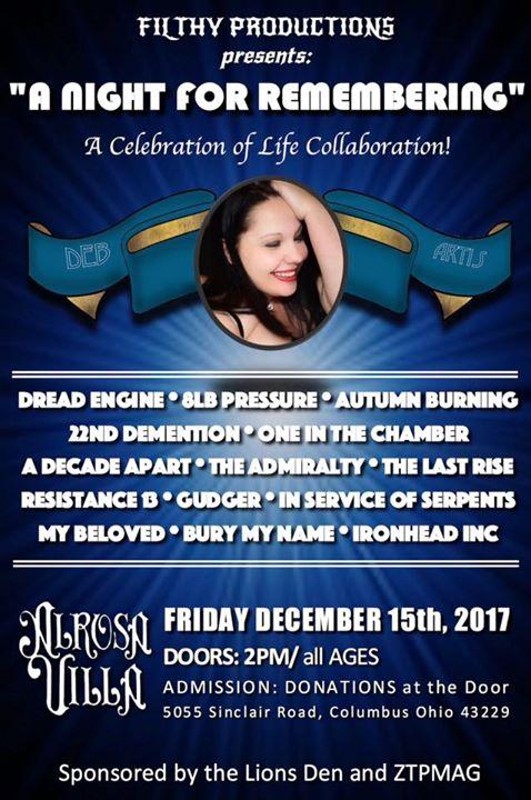 A Celebration Of Life Collaboration!!