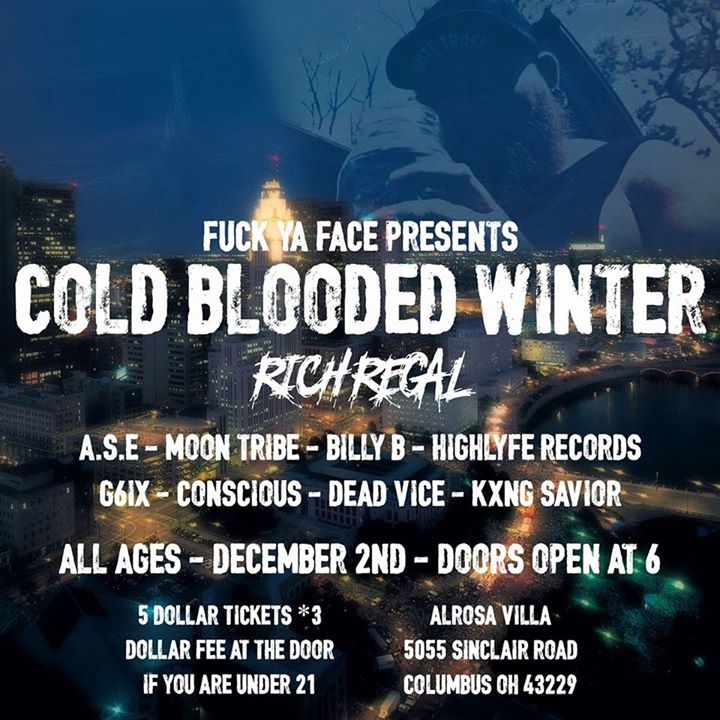2nd Annual Cold Blooded Winter