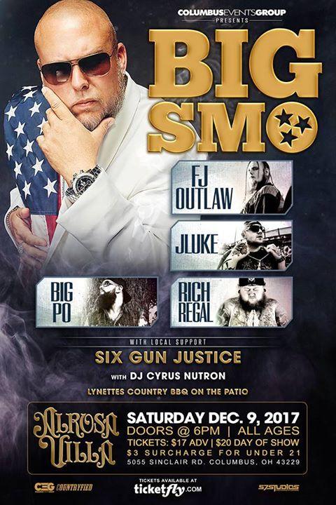 Columbus Events Group Presents: BIG SMO