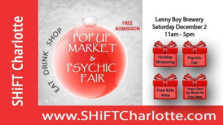 SHiFT Holiday Pop Up Market & Psychic Fair