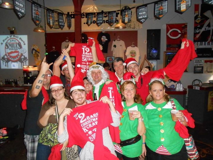The Twelve Bars of Christmas ~ 5K Holiday Themed Bar Crawl