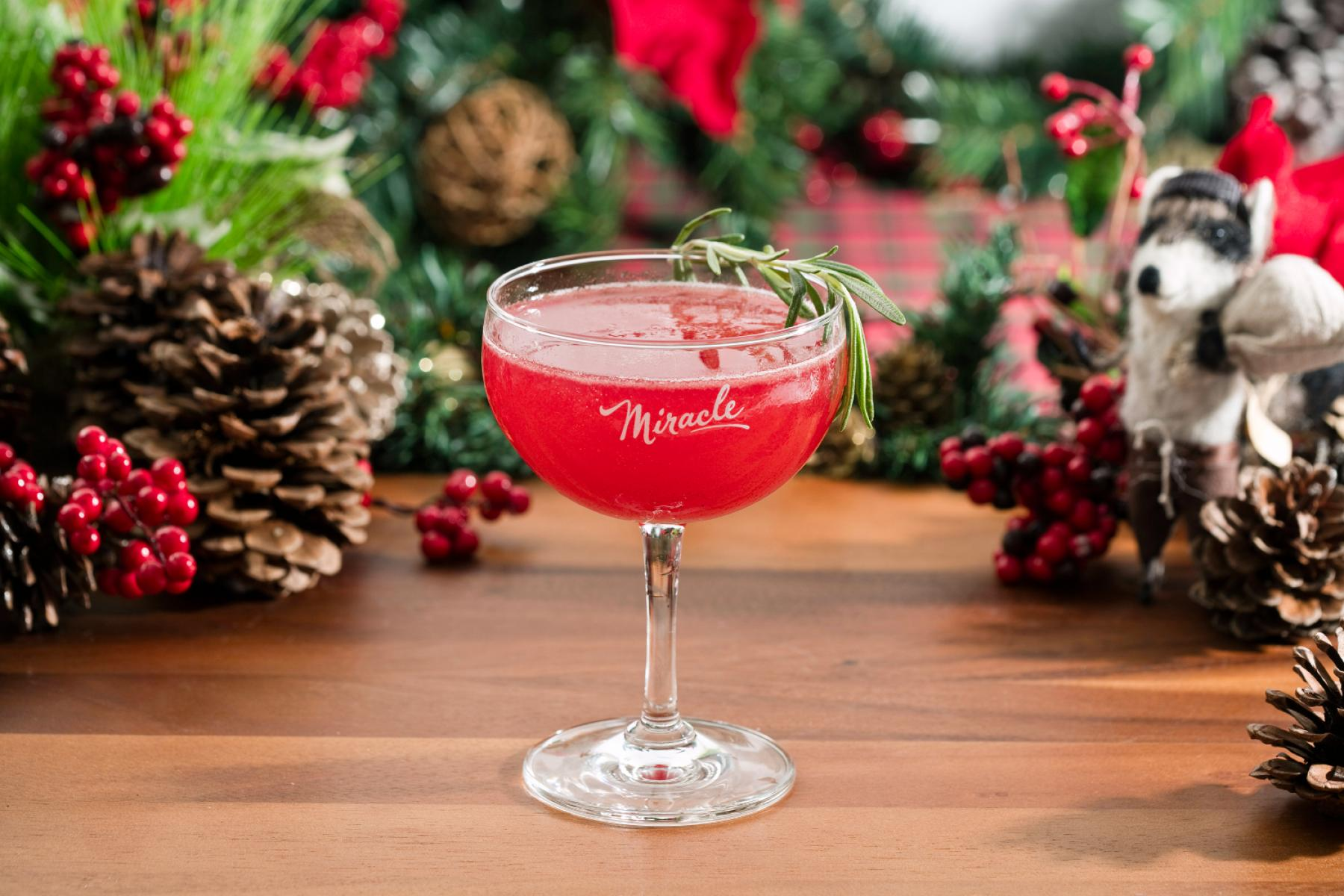 Pop-up Christmas Cocktail Bar Miracle On Monroe