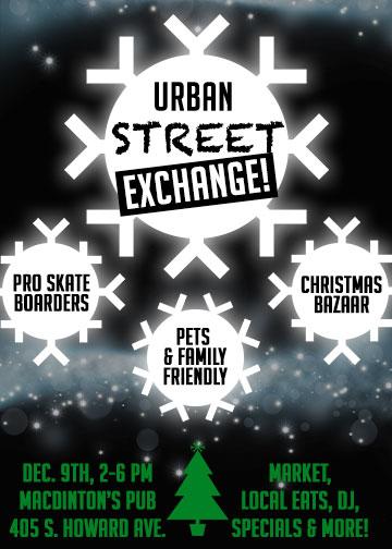 Urban Street Exchange Holiday Market