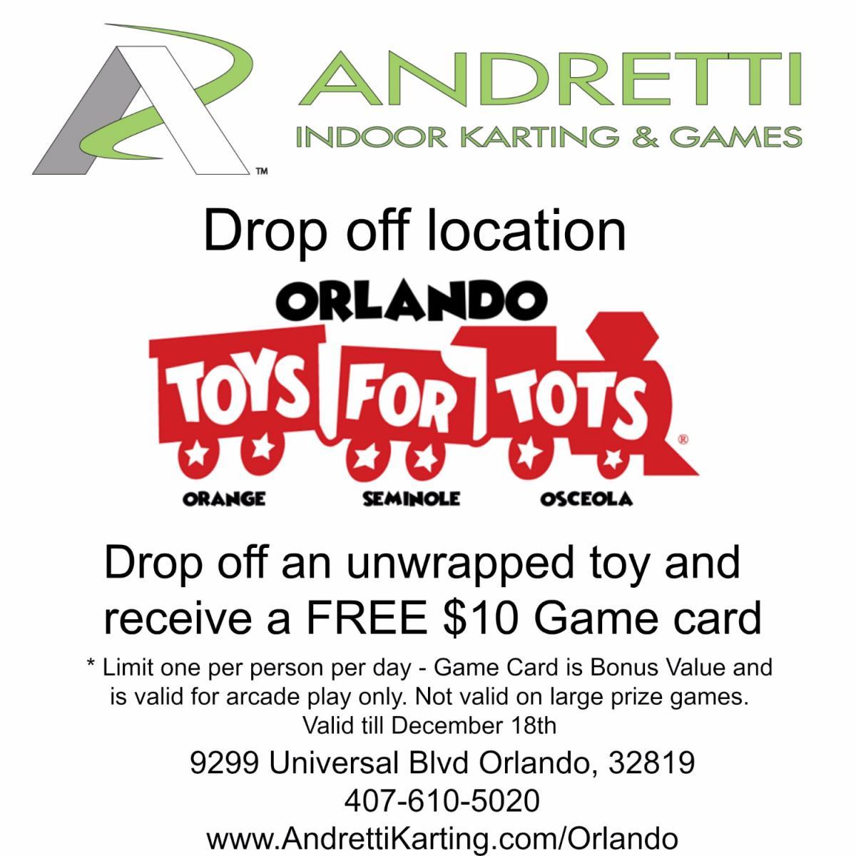 Toys For Tots Drop Off : Drop off toys for tots orlando fl dec  pm