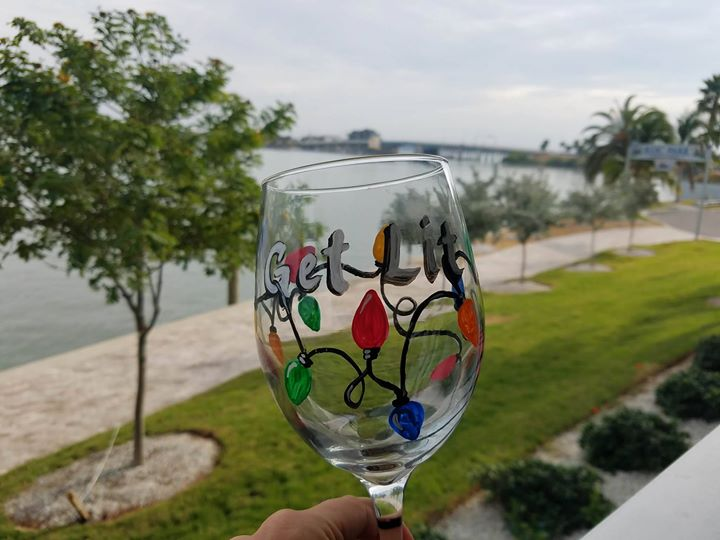 Class Full - Holiday Glass Painting Party