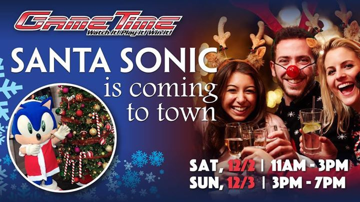 Santa Sonic is Coming to Town!