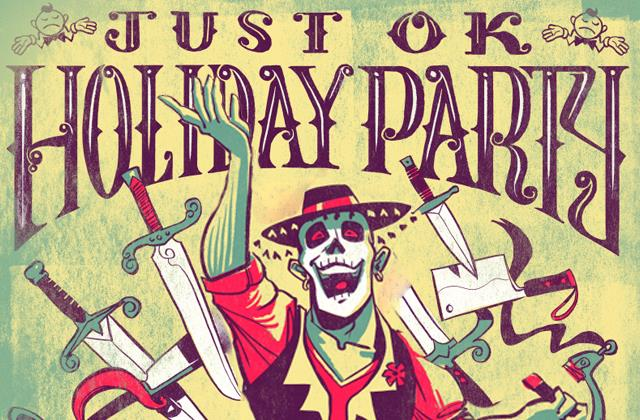 Real Radio 104.1/The News Junkie presents The Just OK Holiday Party