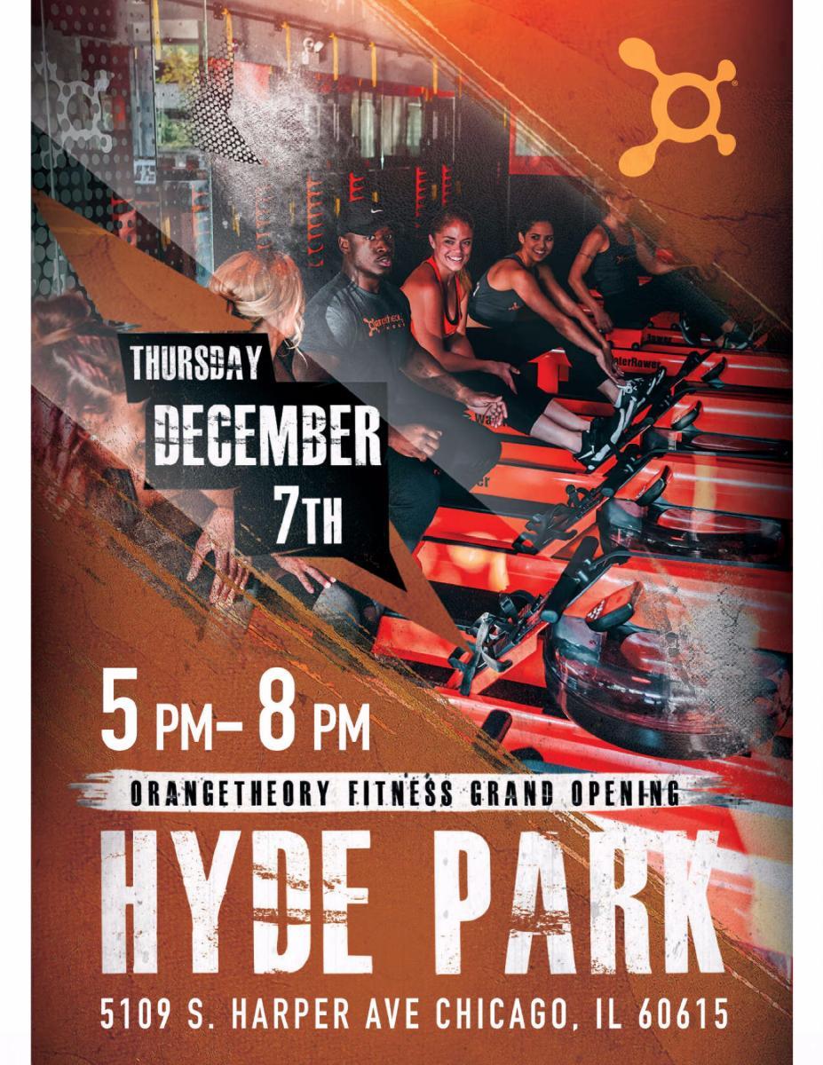 Orangetheory Fitness Hyde Park Grand Opening