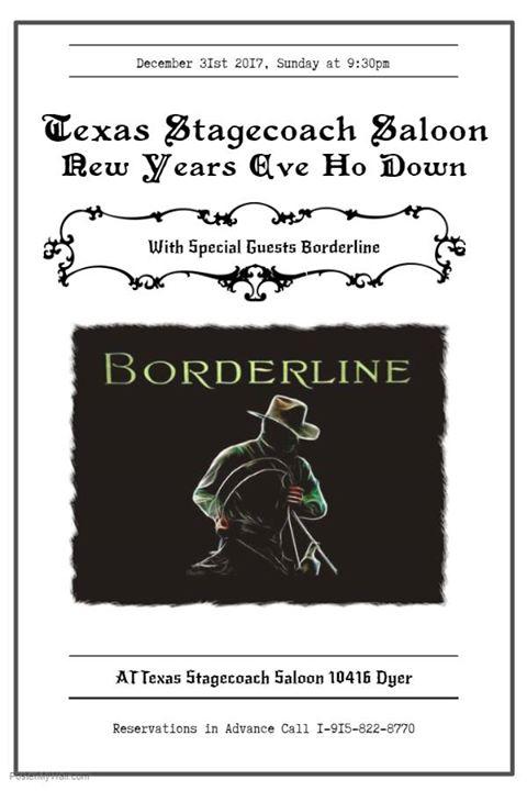 New Years Eve Party W Borderline El Paso Tx Dec 31