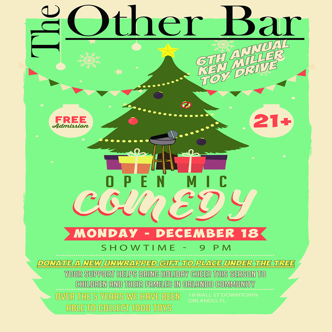 6th annual Comedy Toy Drive