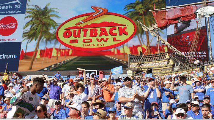 2018 Outback Bowl Tampa Fl Jan 1 2018 12 00 Pm