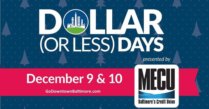 Dollar or Less Days