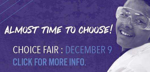 Middle and High School Choice Fair