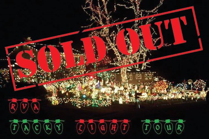 Tacky Light Tour Bus Richmond Va
