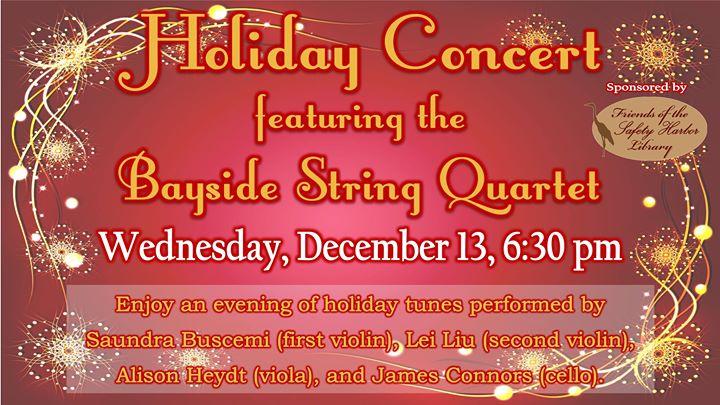 Bayside String Quarter Holiday Concert