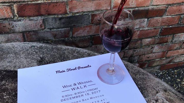 Main Street Presents: Wine & Wassail Walk 2017