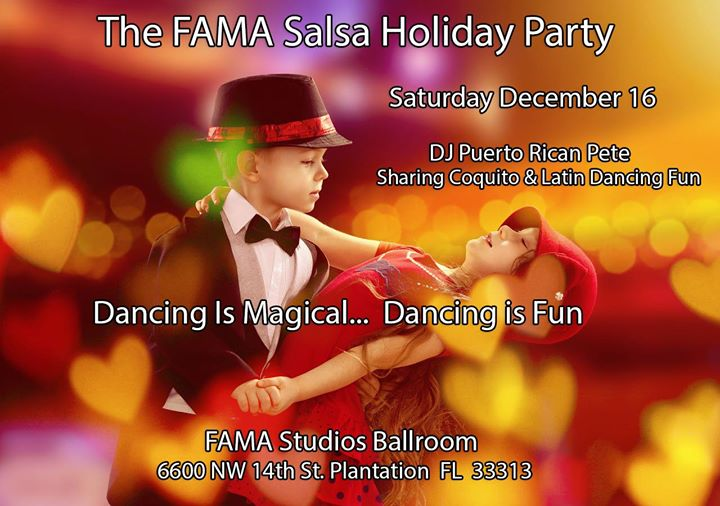 Salsa Party at FAMA