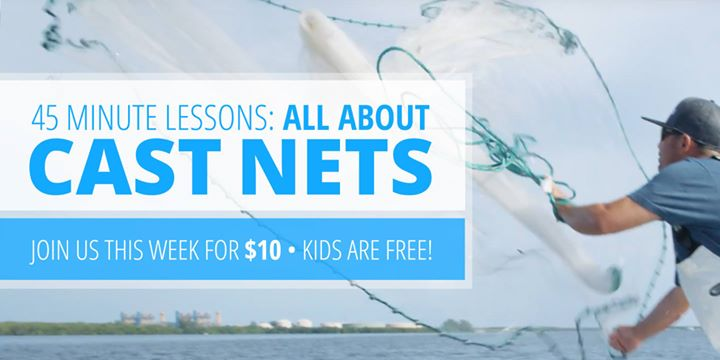 All About Cast Nets: How to Use a Cast Net to Catch Your Own Bait!