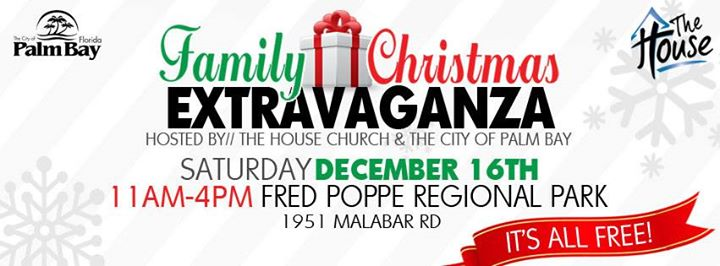9th Annual Family Christmas Extravaganza