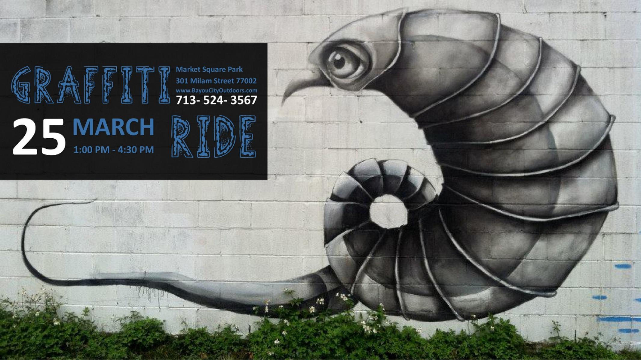Bco graffiti art bike ride