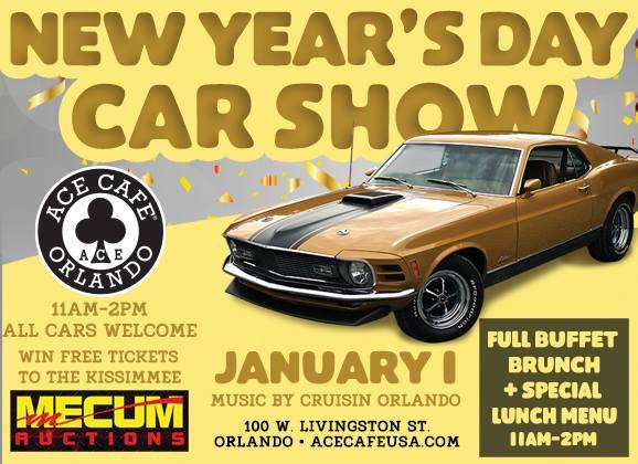New Year S Day Car Show Orlando Fl Jan 1 2018 11 00 Am