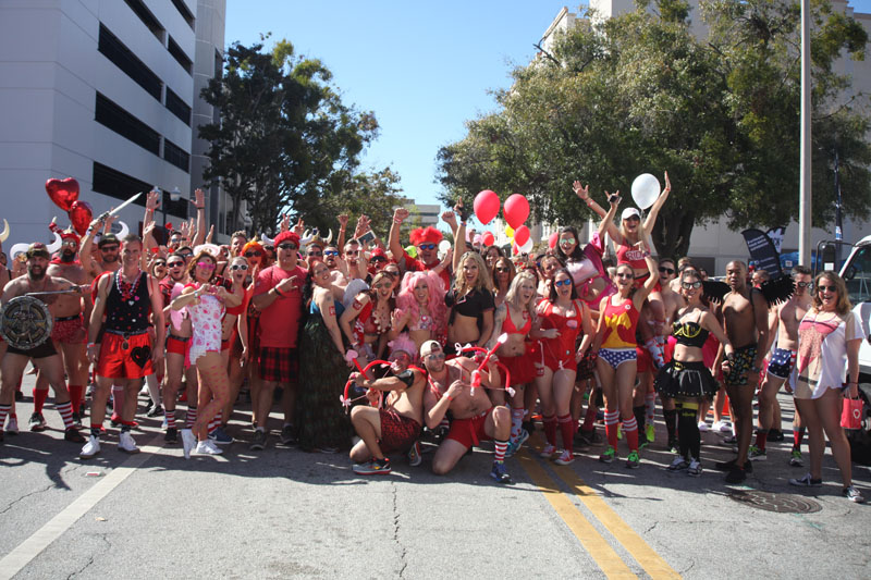 Cupid's Undie Run — Orlando