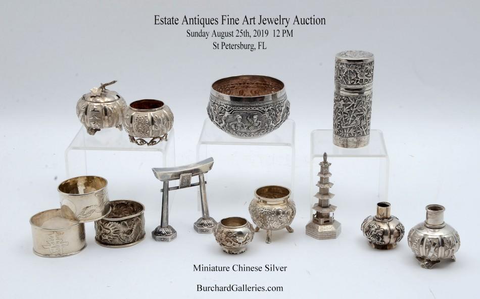 Vintage Estate Antiques, Fine Art & Jewelry Auction