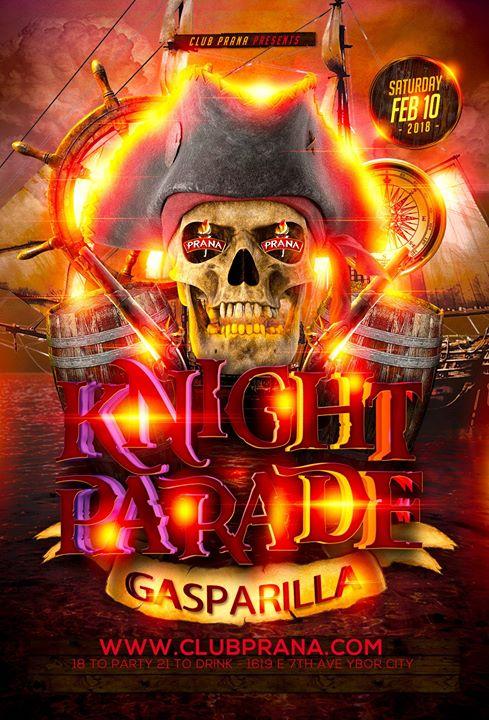 Gasparilla Knight Parade Afterparty Tampa Fl Feb 10