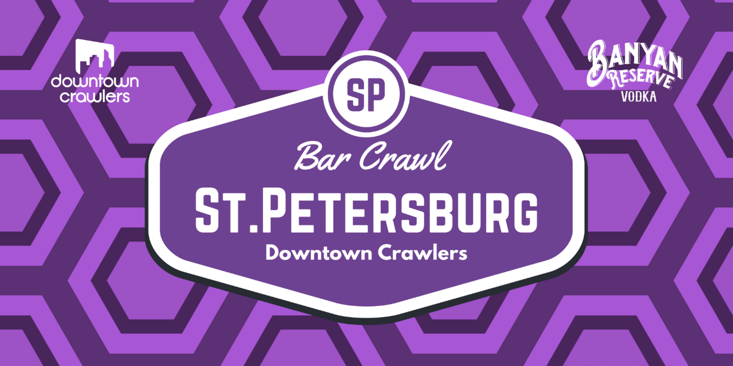 Banyan St.Pete Bar Crawl with Party Bus