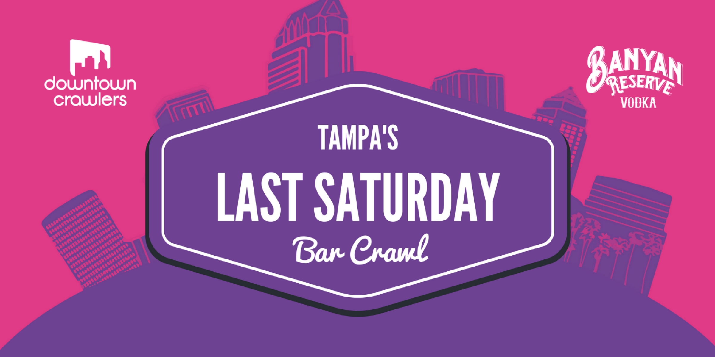 Tampa's Last Saturday Bar Crawl with Party Bus