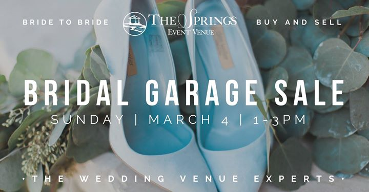 Wedding Garage Sale.Bridal Garage Sale Tulsa Ok Tulsa Ok Mar 4 2018 1 00 Pm