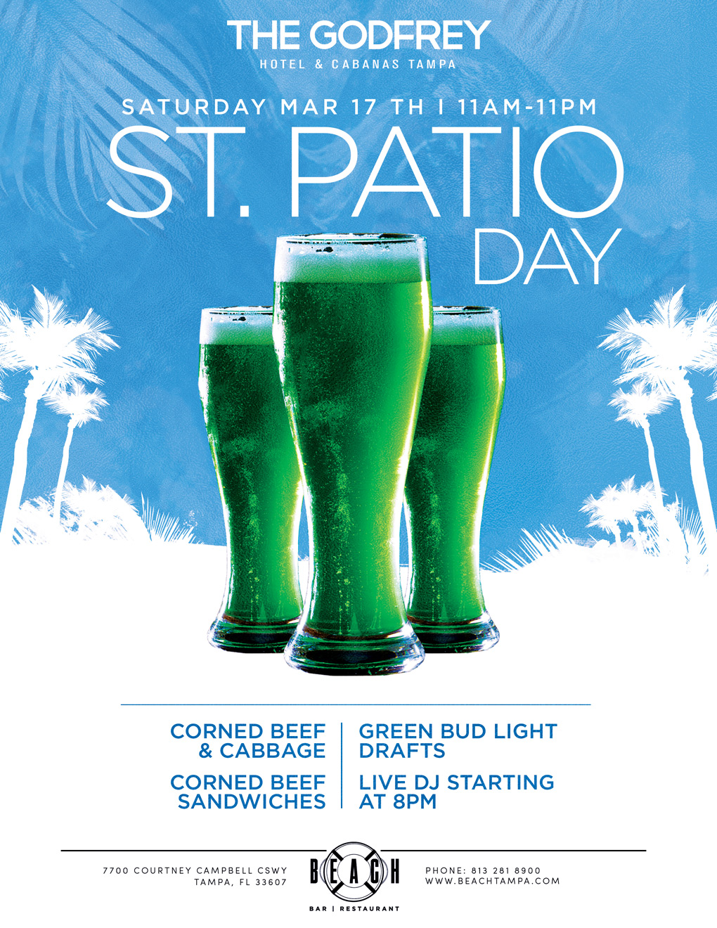St. Patio Day at Beach